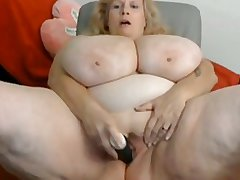 Huge mamma bbw matured on cam