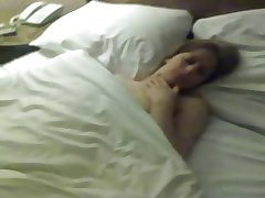mature woman playing with herself for hubby