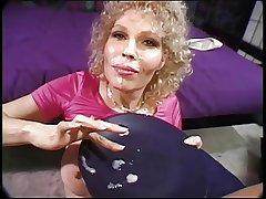 Mature blond loves procurement say no to round titties sucked