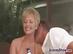 Mature Swingers At A Hardcore Party
