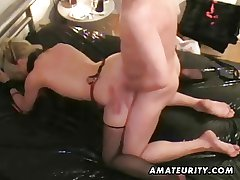 Mature amateur housewife cumshot compilation