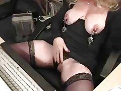 Mature Nipple Play!!!!!!!