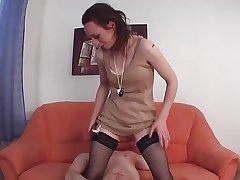 Profane german mature slut