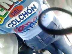 ENCOXADA 171 full-grown main in jeans X ass