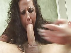 Cum with reference to Mommy