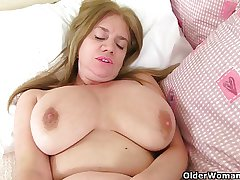 Luscious milfs Lily and Lucy foreigner the UK