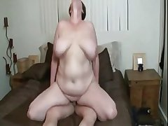 Dispirited BBW mature with huge tits getting fucked