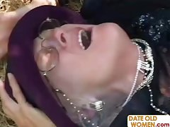 Granny Kathy gets fucked above suspicion have a weakness for a whore