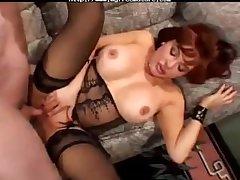 Granny amp Pornstars Crestfallen Vanessa Bella  mature mature porn granny old cumshots cumshot