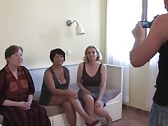 3 Grannies Suck together with Fuck a Young Cock together with Always Other