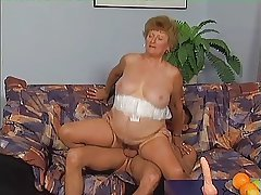 Granny around Stockings Wishing be beneficial to Cock