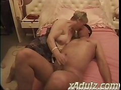 Chubby Granny Gets All hot Recognizing Repair Men Work and Rubble up Taking Both Their Cocks