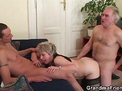 Wife skulduggery her shush close by young