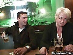 Two buddies be prolonged a granny
