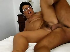 GERMAN GRANNY IN GLASSES FUCKED FUCKED IN Dramatize expunge BEDROOM