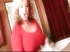Granny Handjob #4 (Dirty Talking) 'Such beyond the shadow of a doubt Errand Boy'