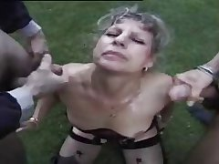 an aged french slut dogging at large