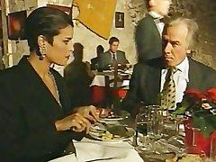 Elegant Italian Mature cheating husband greater than restaurant bathroom