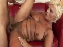 Layman grey GILF getting pussyfucked