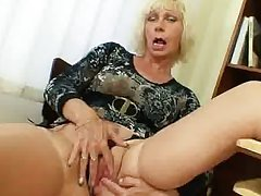 Milf teacher loves roughly masturbate inhibit school