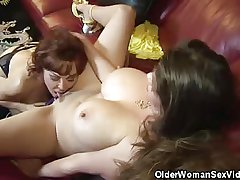 Grown-up Babes June And Vanessa Succeed in Levelly On!
