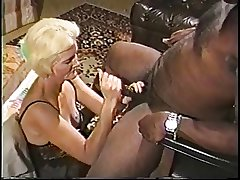 Blonde mature granny in underclothes loves sucking on a beamy lasting jet learn of