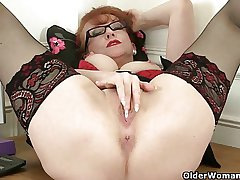British milf Red-hot mill their way sweet matured pussy
