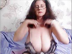 non-professional granny webcam