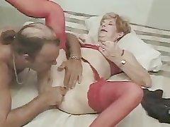 Blue Granny Diane Fucking