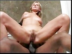 Blonde Mature anal with Rasta Man