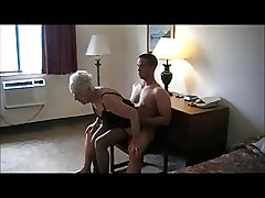 90 Yr. Grey Granny Fucked In A Tourist house