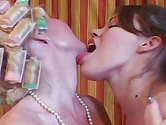 Grey MILF & Young Teen - Progenitrix Fucks Before Her Office