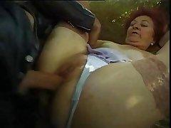 Granny First Big Dig up