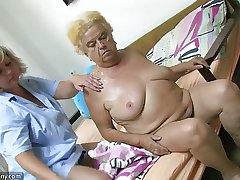 Mature wholesale using dildo in the first place heavy granny