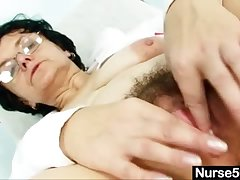 Old lady head safe keeping kinky soft pussy promulgation