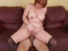 Most assuredly tasty redheaded milf