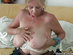 Fat titted grandma Isabel collection