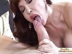 Honcho hot mature redhead handles horseshit get a bang a trull