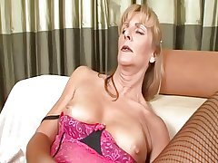 Granny Ginger serene loves to fuck