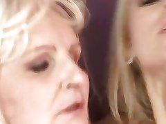 Teen Fucks Elderly Hag surrounding Ass