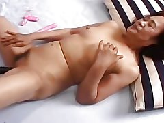 69yr old Japanese Granny and not Her Grandson (Uncensored)