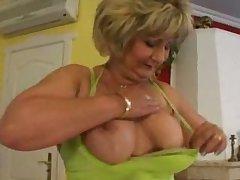 busty slut grown-up adulate assfuck