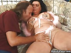 Obese granny fucked fast added to firm