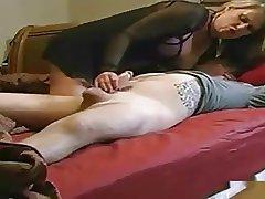 Milf Makes Boy Gush Cum