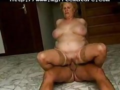This Bbw Gran Enjoys A Amenable Romp With An Older Supplicant mature mature porn granny age-old cumshots cumshot