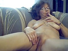 64 y.o. appealing sexy granny with long maddened