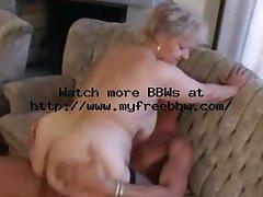 Buxom Old Tow-headed Granny everywhere Stockings Fucks