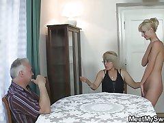 She fucks his unabridged family!