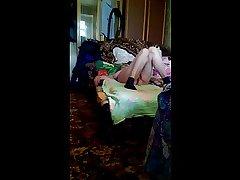 Granny have a passion creampie