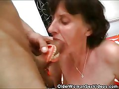 Superannuated Woman Dentures And Horseshit Sucking